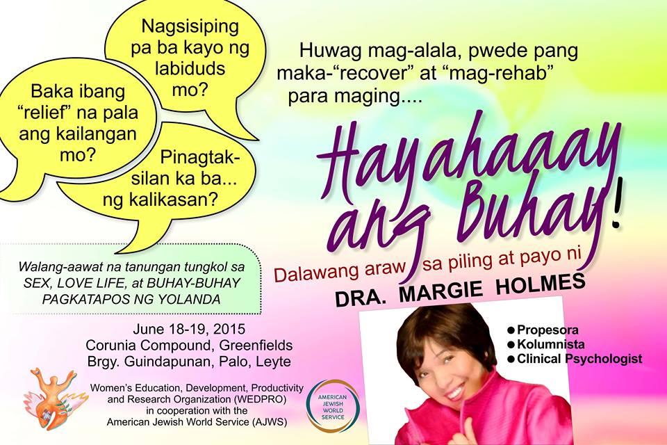 Hayahay ang Buhay! workshop poster